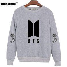 BTS Love Yourself Answer Sweatshirts - 3 Colors Bts Shirt, Bts Love Yourself, Kawaii Clothes, Bts Bangtan Boy, Hoodies, Women's Sweatshirts, Graphic Sweatshirt, Pullover, Clothes For Women