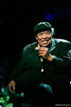 James Cotton at the Pinetop Perkins Memorial by Steve Hopson
