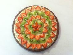 Fruit pizza... Yum!