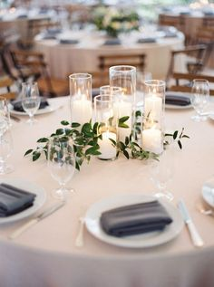Diy Wedding Decorations For Tables Greenery - 219 diy creative rustic chic wedding centerpieces ideas Chic Wedding, Dream Wedding, Trendy Wedding, Wedding Ceremony, Simple Wedding Reception, Wedding Gowns, Wedding Venues, Wedding Catering, Rustic Garden Wedding