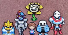 I made these Undertale Perler beads today. I wanted to make these since last year but didn't want to make them look exactly like the game ve...