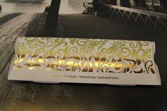 Individuelle Verpackung in Auflage 1 (1 Expl.) mit personalisierter Folienprägung/ Personalisiert produziert bei den Lieblingsdruckern in Berlin. Papier Metapaper Packaging Rough