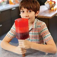 Foolin' Around! Funny April Fool's Pranks: The Colossal Popsicle (via FamilyFun Magazine)
