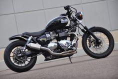 Mule Motorcycles - Triumph America Reimagined