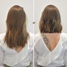 Long Bob Cut by Jesse Wyatt #hair #haircut #bobcut #jessewyatt