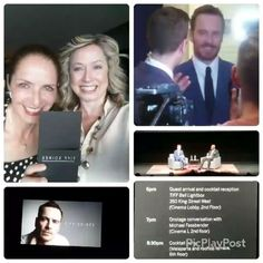 Click to see the footage of him raising those eyebrows and waiving to me....well really probably all us fans! Lol! :D  #tiff #openingnight #michaelfassbender #specialguest  #toronto #bestactorever! #hewaivedatme! Lol! ♡♡♡