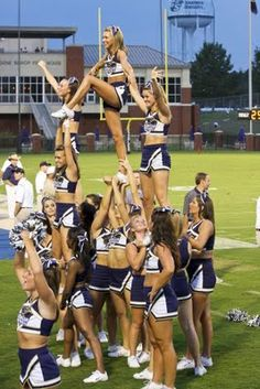 Georgia Southern Cheerleaders