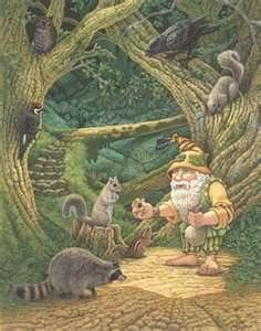 Gnomes can be called to aid in all magick associated with the element earth.
