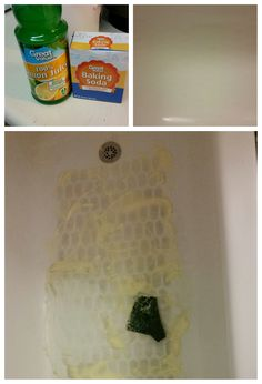 Remove bathmat stains from your tub  Mix 1 cup of Baking Soda   1 cupRust Stains in Bathtub  OMG it WORKS  Tried and true    Pinned  . Removing Bathtub Stains. Home Design Ideas