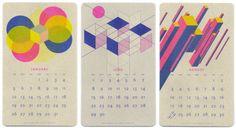 25 Modern Calendars for 2014