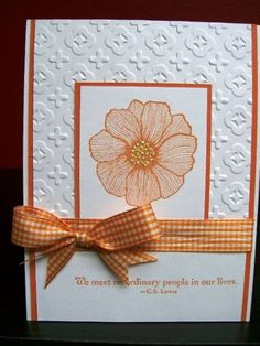 No Ordinary Orange by Bumpy_38 - Cards and Paper Crafts at Splitcoaststampers