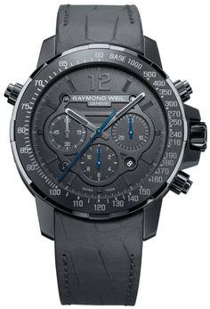 Raymond Weil Watch Nabucco Rivoluzione Mens #bezel-fixed #bracelet-strap-leather…