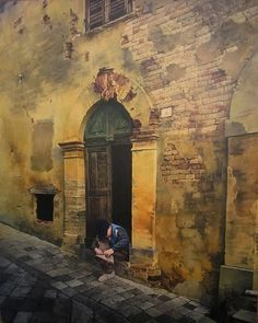 Agim Sulaj 1960 | Albanian Hyperrealist painter and Illustrator