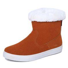 $38.63 (Buy here: https://alitems.com/g/1e8d114494ebda23ff8b16525dc3e8/?i=5&ulp=https%3A%2F%2Fwww.aliexpress.com%2Fitem%2FNew-Arrivals-Women-Snow-Boots-Warm-Fur-Shoes-Woman-Rubber-Sole-Buck-And-Zipper-Flat-Heels%2F32711110466.html ) New Arrivals Women Snow Boots Warm Fur Shoes Woman Rubber Sole Buck Zipper Flat Heels Ankle Short Army Style Winter Boots for just $38.63