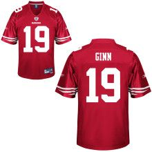 1b89c876d08 San Francisco 49ers #19 Ted Ginn Team Color Premier Stitched NFL Jersey