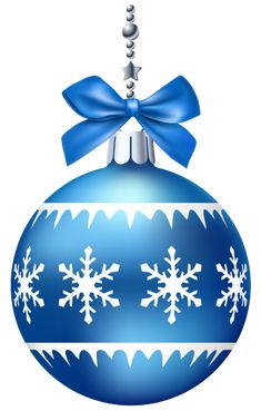 Blue Christmas Ball PNG Clip Art The Best Clipart
