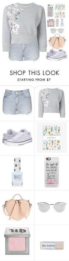 """""""Untitled #345"""" by jovana-p-com ❤ liked on Polyvore featuring Topshop, Philipp Plein, Converse, Casetify, Marc Jacobs, Fendi and Urban Decay"""