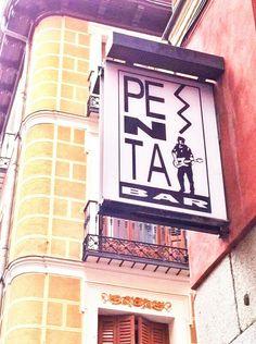 Bares míticos de los 80's: Penta Bar #Madrid