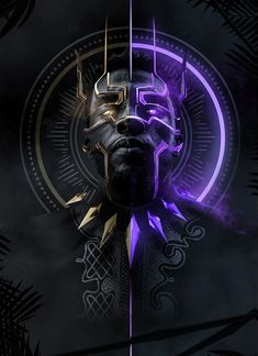 Marvel has had a problem with crafting great villains in the past, but 'Black Panther' has given us something special with Erik Killmonger. Marvel Comics, Marvel Art, Marvel Heroes, Marvel Avengers, Marvel Canvas, Avengers Team, Black Panther King, Black Panther Marvel, Black King