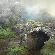 Viejo puente en cualquier barranco de cualquier bosqueee.
