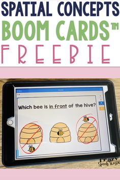 Free BOOM Cards for positional concepts Speech Activities, Speech Therapy Activities, Speech Language Pathology, Language Activities, Speech And Language, Classroom Activities, Articulation Activities, Preschool Songs, Play Therapy Techniques