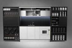 Мини кухня PIA prime by Dizzconcept by Inkea | дизайн Darko Špiljarić
