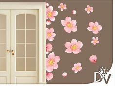 cseresznyevirág falmatrica dekoráció