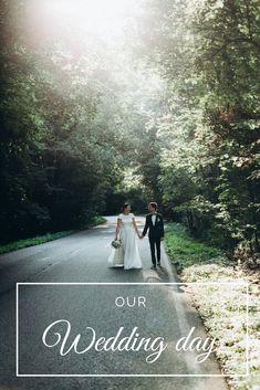 Our Wedding Day, Big Day, Groom, Bride, Wedding Dresses, Wedding Bride, Bride Dresses, Bridal, Bridal Wedding Dresses