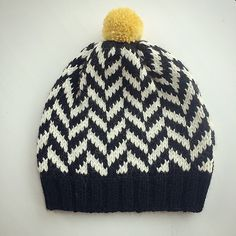 Ravelry: Big Herringbone Hat by Ingrid Aartun Bøe