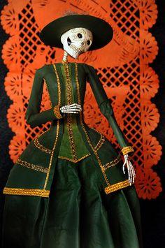 Catrina Figure made by Jesus Sanchez Sierra. Image © Misraim Alvarez Bolaños.
