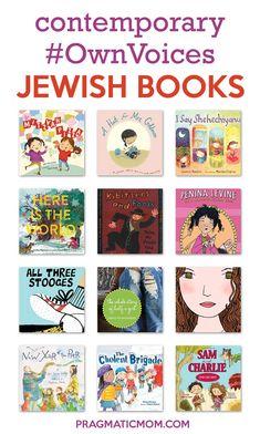Contemporary #OwnVoices Jewish Children's Books | Pragmatic Mom Childrens Books, Kid Books, Story Books, Library Books, Create This Book, Hebrew School, Chapter Books, Children's Literature, Future Classroom
