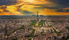 Photograph Paris sunset by Marco Carmassi on 500px
