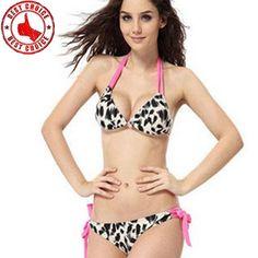 Dalmatinische print sexy Badeanzug