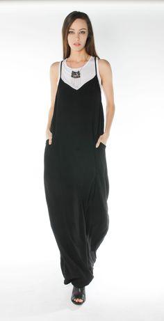 Morgan Marks Australian designer black viscose crepe dress handmade  necklace white tank Morgan Marks Boutique a745a0faddd