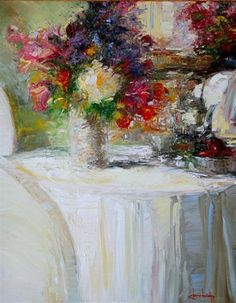 """Summer Bouquet"" by Stephen Shortridge - Painter's Chair Fine Art Gallery, Coeur d'Alene, Idaho"