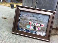 Bible verse framed art $8 on this site! One of a kind!