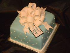 Tiffany Blue Birthday Cake