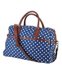 Polka Dot Duffle Bag  $27.80