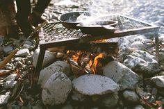 exploreislands:    Had a little cookout at the base of Virgin Falls | nicholas kupiak