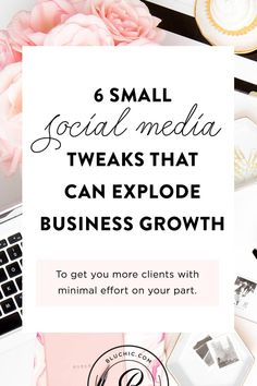 6 Small Tweaks To Your Social Platforms That Can Explode Business Growth - Bluchic Tips Instagram, Instagram Marketing Tips, Facebook Instagram, Instagram Business Ideas, Followers Instagram, Instagram Story, Social Media Marketing Business, Facebook Marketing, Marketing Ideas