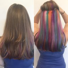 Underlight dyed hair- new trend of youth in the world   Health-Beauty