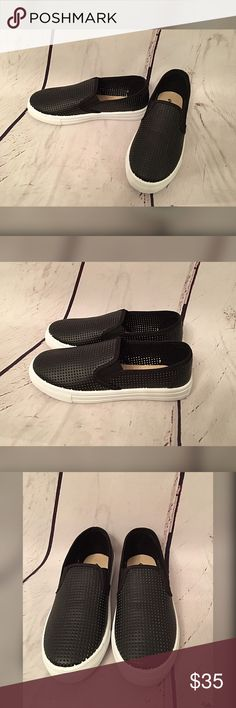 Adorable vented slip on sneakers  Super comfy and stylish slip on vented sneakers- great for spring Shoes Sneakers
