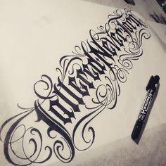 """Tattered Never Torn"" New Zealand 60/365 #catrinvaladez365    #blackletter  #urbanwear #wear #brand #clothing #customdesign #type #typography #logotype #logo #latenight #lettering #Gangster #handlettering #blackletter #black #tattoowear #tattoo #inked #tattooed #tatuajes #scriptkillas #scriptgang #worldwidelettergang #letterstoliveby #catrinvaladez #typegang #typespire #handtype"