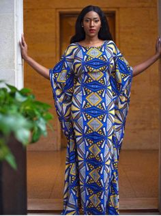 African Clothing, Ankara Dress, African Print Features: African Print Fabric, Ankara Print for Women Long Ankara Dresses, African Maxi Dresses, African Fashion Ankara, Latest African Fashion Dresses, African Dresses For Women, African Print Fashion, Africa Fashion, African Attire, African Prints