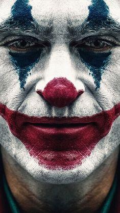 Joker 2019 Joaquin Phoenix Clown Makeup HD Mobile, Smartphone and PC, Desktop. - Joker 2019 Joaquin Phoenix Clown Makeup HD Mobile, Smartphone and PC, Desktop… – Cultura Joker Comic, Le Joker Batman, Joker Film, Joker And Harley, Black Joker, Joker Clown, Joaquin Phoenix, Photos Joker, Joker Images