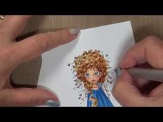 Blog: http://thejoyofcards.blogspot.com Mini Tutorials on Copic and ShinHan Markers and other artsy creations. A place to learn, share and have fun! Coloring...