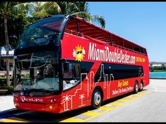 Miami Double Decker City Tour New Video Awesome Tour!