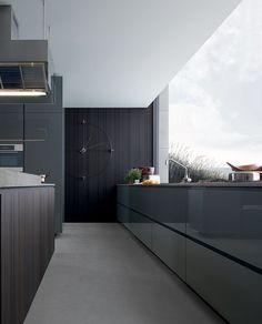 Tonos grises  #cocinas #kitchens