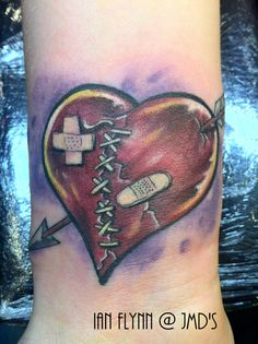 What does broken heart tattoo mean? We have broken heart tattoo ideas, designs, symbolism and we explain the meaning behind the tattoo. Heart Tattoos Meaning, Heart Tattoo Designs, Tattoo Designs For Women, Tattoos For Women, Broken Heart Drawings, Broken Heart Art, Broken Heart Tattoo, Cover Up Tattoos, Body Art Tattoos