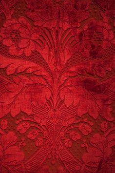 Project DIY: Baroque and Roll Inspiration Red Lace Fabric
